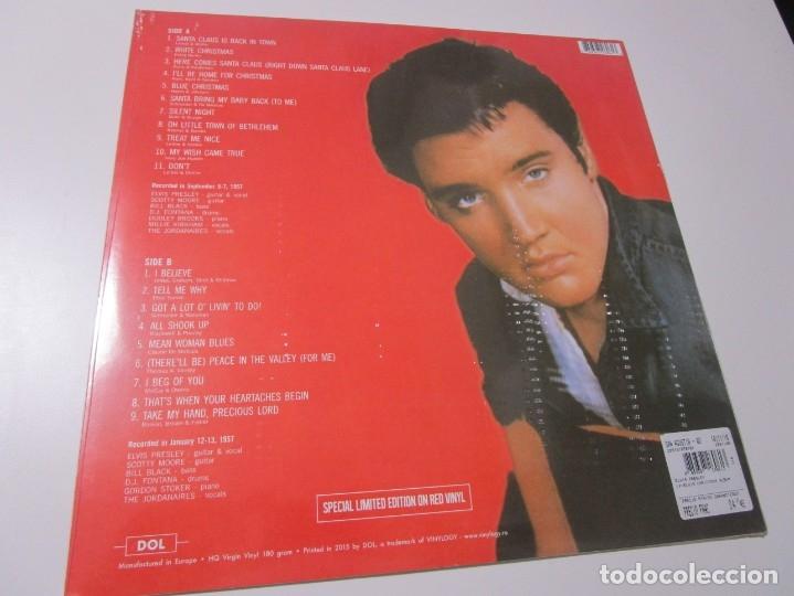 Elvis Christmas Album Vinyl.Elvis Presley Elvis Christmas Album Lp 2016 Eu Vinilo Verde Precintado