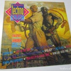Discos de vinilo: TECHNO REVOLUCION LP 1993. Lote 174419254