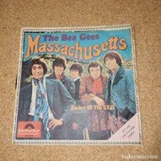 Discos de vinilo: THE BEE GEES, MASSACHUSETTS, SINGEL VINILO. Lote 174419762