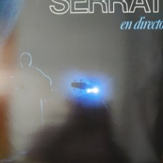 Discos de vinilo: JOAN MANUEL SERRAT EN DIRECTO LP DOBLE 2 DISCOS SELLO ARIOLA AÑO 1984. Lote 174421548