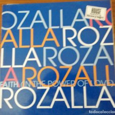 Discos de vinilo: ROZALLA: FAITH. Lote 174421752