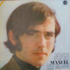 Discos de vinilo: JOAN MANUEL SERRAT LP SELLO NICOLA PORTADA DOBLE CON TRANSPARENCIA. Lote 174421788