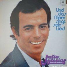 Discos de vinilo: JULIO IGLESIAS EN ALEMAN LP SELLO CBS AÑO 1978 EDITADO EN HOLANDA.. Lote 174421887