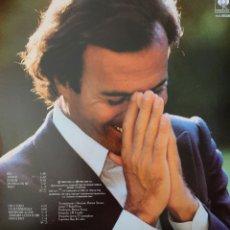 Discos de vinilo: JULIO IGLESIAS EN ITALIANO LP SELLO CBS EDITADO EN USA AÑO 1982. Lote 174422122