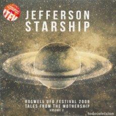 Discos de vinilo: JEFFERSON STARSHIP * JEFFERSON AIRPLANE 2LP COLOR ROSWELL UFO FESTIVAL 2009 VOL.2 RECORD STORE DAY. Lote 174426407