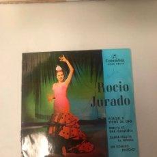 Discos de vinilo: ROCÍO JURADO. Lote 174426823