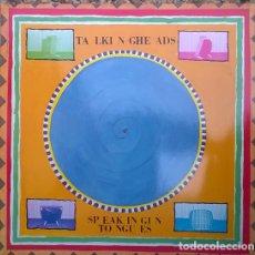 Discos de vinilo: TALKING HEADS. SPEAKING IN TONGUES. SIRE, GERMANY 1983 LP + ENCARTE. Lote 174431224