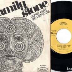 Discos de vinilo: SLY & THE FAMILY STONE: EVERYDAY PEOPLE - SING A SIMPLE SONG.. Lote 174435323