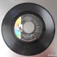 Discos de vinilo: IKE & TINA TURNER & THE IKETTES-SINGLE I WANT TO TAKE YOU HIGHER-USA. Lote 174436352