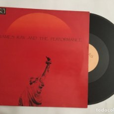 Discos de vinilo: DISCO MAXI SINGLE VINILO 12'' JAMES RAY AND THE PERFORMANCE - TEXAS DE 1987. Lote 174446465