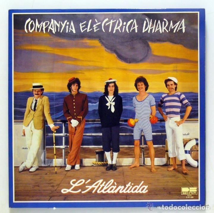 COMPANYIA ELÈCTRICA DHARMA - L'ATLÀNTIDA (1981) (Música - Discos de Vinilo - Maxi Singles - Grupos Españoles de los 70 y 80)
