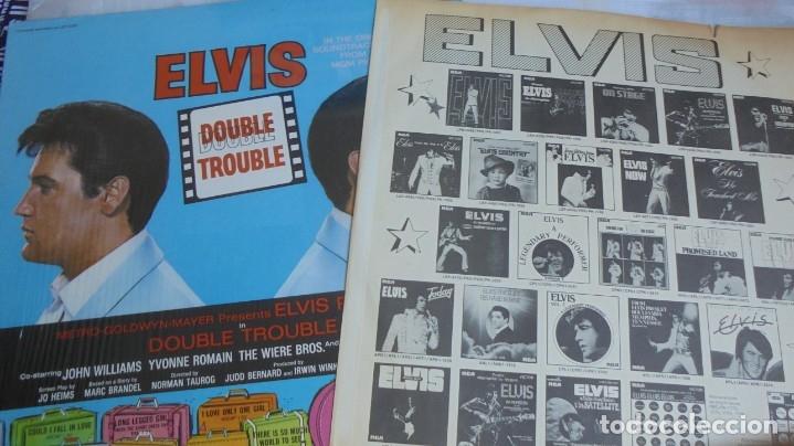 Discos de vinilo: ELVIS PRESLEY - DOUBLE TROUBLE - RCA APL1-2564 STEREO - LP EDITADO EN USA - Foto 2 - 174400638