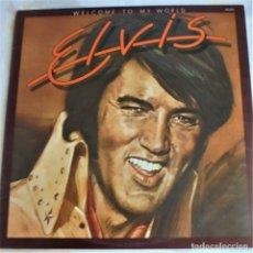 Discos de vinilo: ELVIS PRESLEY - WELCOME TO MY WORLD- RCA APL1-2274 STEREO - LP EDITADO EN USA. Lote 174401850