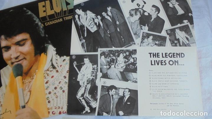 Discos de vinilo: ELVIS PRESLEY - A CANADIAN TRIBUTE, VINILO AMARILLO TRASLÚSIDO - Foto 6 - 174402109