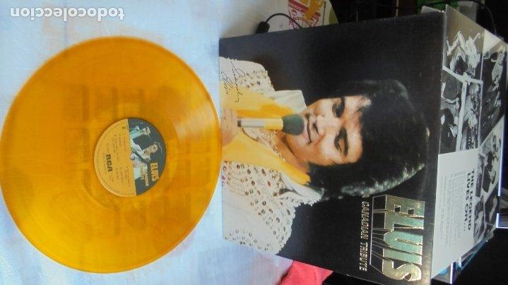 Discos de vinilo: ELVIS PRESLEY - A CANADIAN TRIBUTE, VINILO AMARILLO TRASLÚSIDO - Foto 7 - 174402109