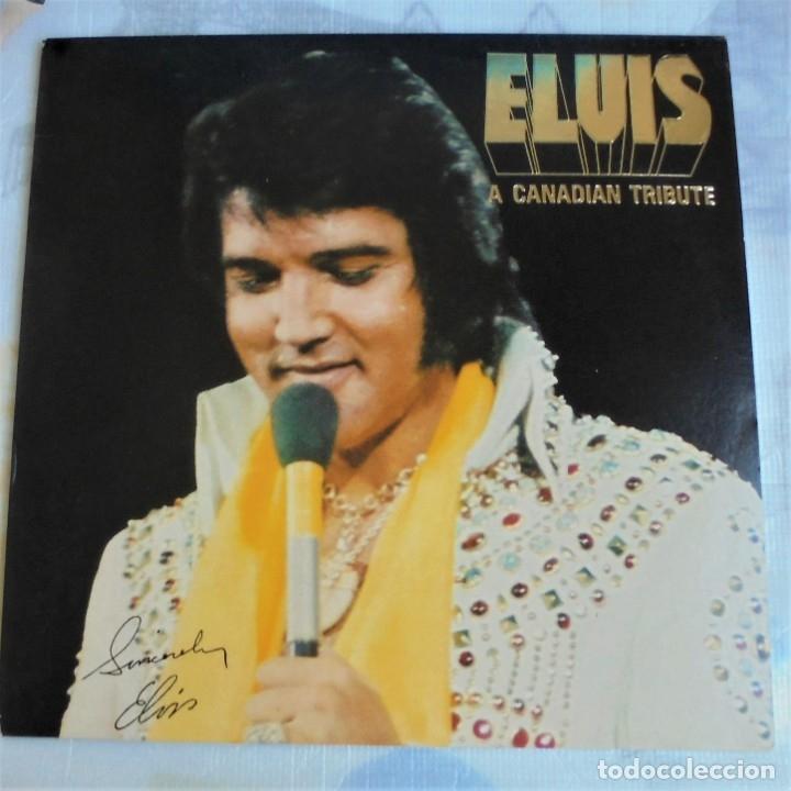 ELVIS PRESLEY - A CANADIAN TRIBUTE, VINILO AMARILLO TRASLÚSIDO (Música - Discos - LP Vinilo - Rock & Roll)