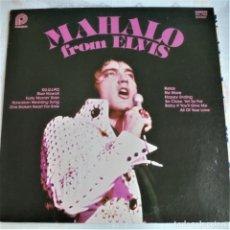 Discos de vinilo: ELVIS PRESLEY - MAHALO FROM ELVIS - PICKWICK CAMDEN ACL-7064 STEREO LP. Lote 174402154