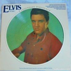 Discos de vinilo: ELVIS PRESLEY - A LEGENDARY PERFORMER VOL.3 - RCA CPL1-3078 STEREO LP. EDITADO EN USA, 1978.. Lote 174405868