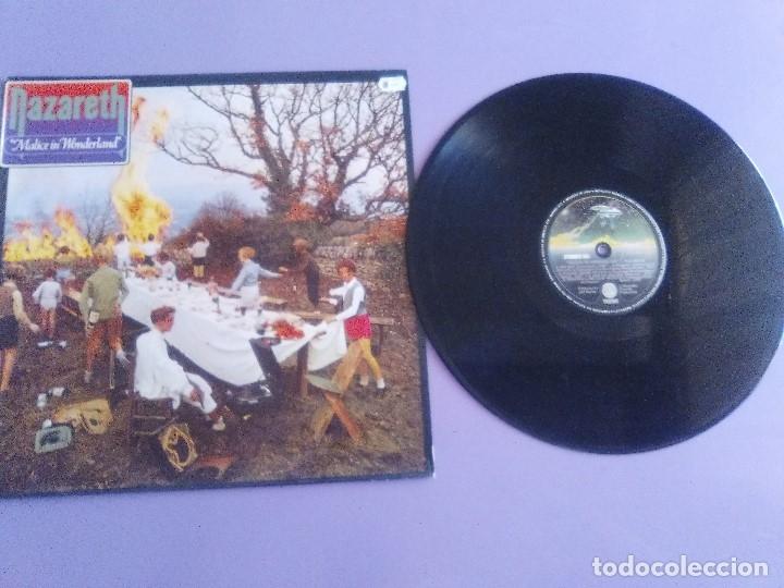 GENIAL LP ORIGINAL. NAZARETH - MALICE IN WONDERLAND. SELLO VERTIGO - 6370 432 . SPAIN AÑO 1980. (Música - Discos - LP Vinilo - Heavy - Metal)