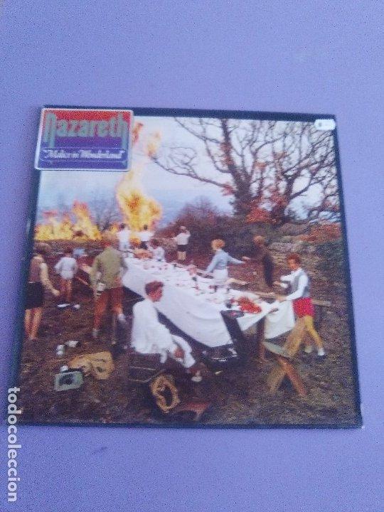 Discos de vinilo: GENIAL LP ORIGINAL. Nazareth - Malice In Wonderland. SELLO Vertigo - 6370 432 . SPAIN AÑO 1980. - Foto 2 - 174461974