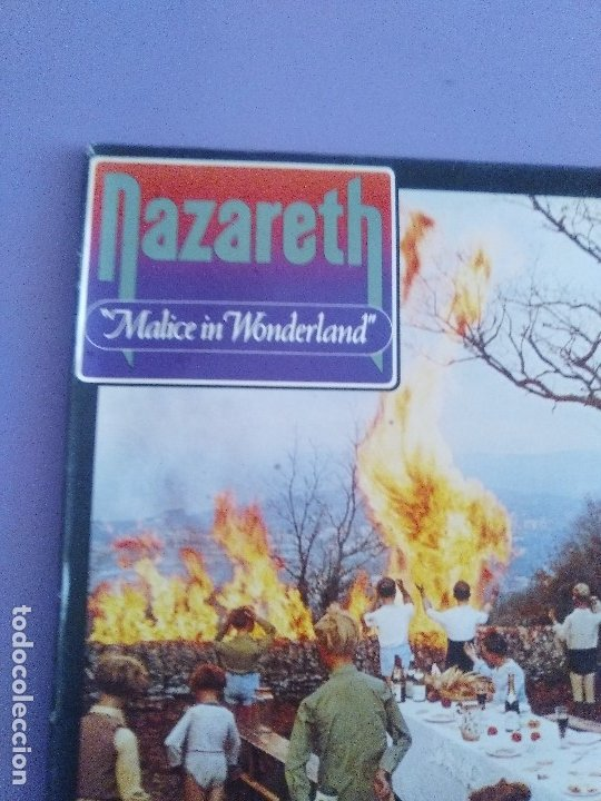 Discos de vinilo: GENIAL LP ORIGINAL. Nazareth - Malice In Wonderland. SELLO Vertigo - 6370 432 . SPAIN AÑO 1980. - Foto 3 - 174461974