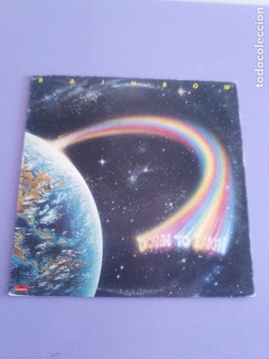 Discos de vinilo: RAINBOW.DOWN TO EARTH.GRAHAM BONNET/RITCHIE BLACKMORE/COZY POWEL.DEEP PURPLE.POLYDOR DELUXE POLD 502 - Foto 12 - 174462654