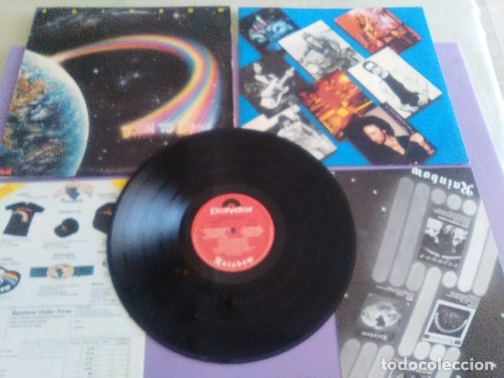 RAINBOW.DOWN TO EARTH.GRAHAM BONNET/RITCHIE BLACKMORE/COZY POWEL.DEEP PURPLE.POLYDOR DELUXE POLD 502 (Música - Discos - LP Vinilo - Heavy - Metal)