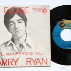 Discos de vinilo: BARRY RYAN : ELOISE + LOVE, I ALMOST FOUND YOU (MGM, 1968) SPAIN . Lote 174462700