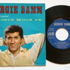 Discos de vinilo: (LEER DESCRIPCIÓN) EP: GEORGIE DANN CANTA EN ESPAÑOL - MISTER SURF (PATHÉ, 1964) SPAIN 45 RPM. Lote 174463060