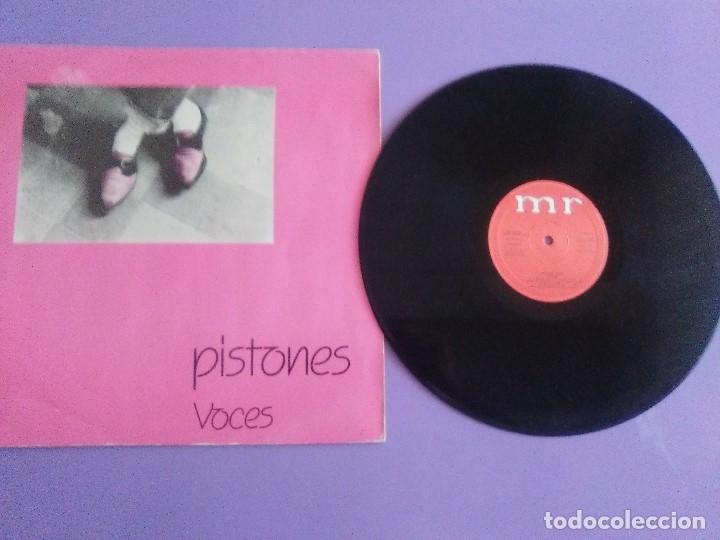 MUY RARO/BUSCADO. MAXI. PISTONES - VOCES - SELLO MR MF 600772 - 1983 / ARIEL ROT (Música - Discos de Vinilo - Maxi Singles - Grupos Españoles de los 70 y 80)