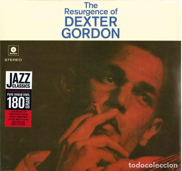 DEXTER GORDON * LP 180G * THE RESURGENCE OF DEXTER GORDON * LIMITED EDITION * PRECINTADO (Música - Discos - LP Vinilo - Jazz, Jazz-Rock, Blues y R&B)