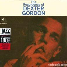 Discos de vinilo: DEXTER GORDON * LP 180G * THE RESURGENCE OF DEXTER GORDON * LIMITED EDITION * PRECINTADO. Lote 174477230