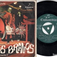 Discos de vinilo: LOS BRAVOS: BRING A LITTLE LOVIN' - MAKE IT LAST. Lote 174484879