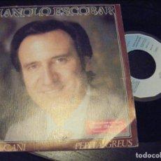 Discos de vinil: JML MANOLO ESCOBAR. ESPAÑA CAÑI. DISCO OBSEQUIO STARLUX.1982. . Lote 174485552