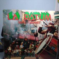 Discos de vinilo: LP LA PATUM DE BERGA : SACS I DANSES ( BANDA TRADICIONAL DE MUSICA ). Lote 174489573