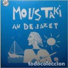 Discos de vinilo: MOUSTAKI - AU DEJAZET (2 LP'S - 1989). Lote 174491264