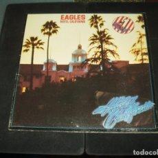 Discos de vinilo: EAGLES LP HOTEL CALIFORNIA. Lote 207138327
