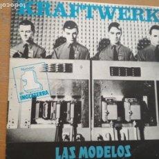 Discos de vinilo: KRAFTWERK LAS MODELOS SINGLE SPAIN 1981. Lote 174494547