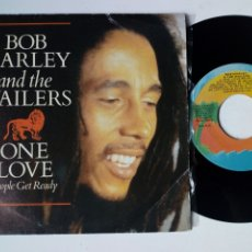 Discos de vinilo: BOB MARLEY : ONE LOVE / PEOPLE GET READY + SO MUCH TROUBLE IN THE WORLD (ISLAND, 1984). Lote 174494908