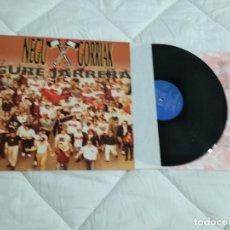 Discos de vinilo: NEGU GORRIAK / GURE JARRERA / LP 33 RPM / ESAN OSENKI INSERT LETRAS COMO NUEVO. Lote 174495422