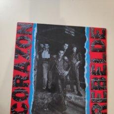 Discos de vinilo: CORAZON REBELDE - 1984 - PUNK ROCK POP CON COMPONENTES DE PARIS, CHILE Y ESPAÑA - DRO MOVIDA. Lote 174495825