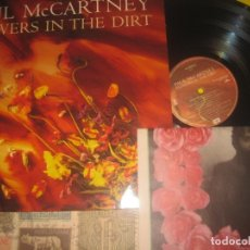 Discos de vinilo: PAUL MCCARTNEY FLOWERS IN THE DIRT + PERIODICO UK (1989-EMI)OG ESPAÑA LEA DESCRIPCION. Lote 174497055