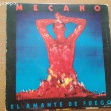 Discos de vinilo: MECANO EL AMANTE DE FUEGO SINGLE 1983. Lote 174498154
