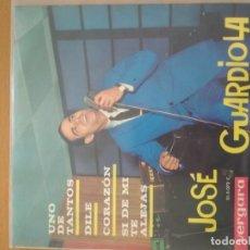Discos de vinilo: JOSE GUARDIOLA UNO DE LOS NUESTROS EP. Lote 174503088