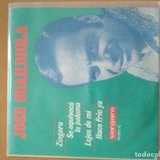 Discos de vinilo: JOSE GUARDIOLA ZINGARA EP. Lote 174503180