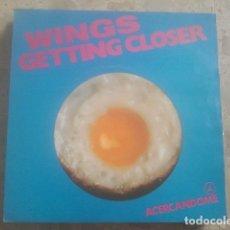 Discos de vinilo: WINGS - GETTING CLOSER - SINGLE - EMI, 1979. Lote 174503289