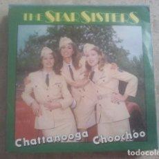 Discos de vinilo: THE STAR SISTERS - CHATTANOOGA - SINGLE - CNR, 1983. Lote 174503583