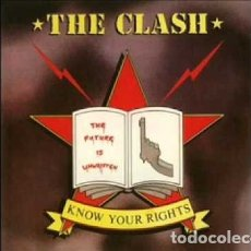 Discos de vinilo: THE CLASH - KNOW YOUR RIGHTS/FIRST NIGHT BACK IN LONDON (1982). Lote 174508535