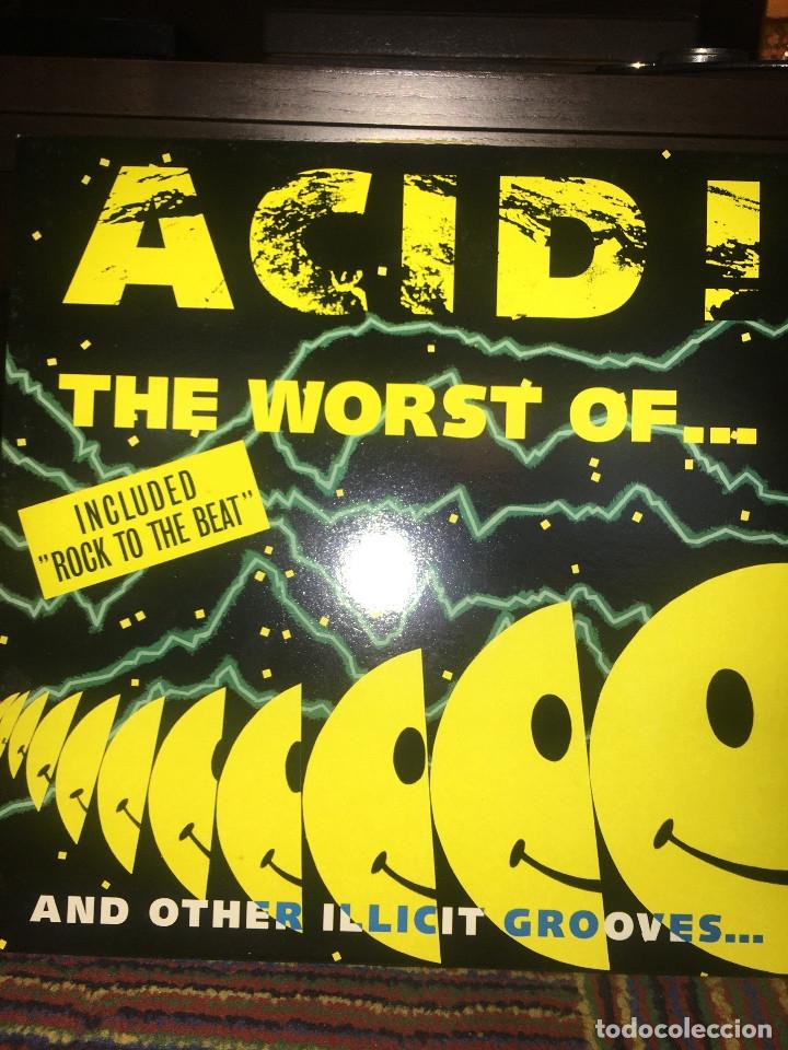 THE WORST OF ACID MUSIC (Música - Discos - LP Vinilo - Disco y Dance)