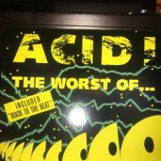 Discos de vinilo: THE WORST OF ACID MUSIC. Lote 174508893